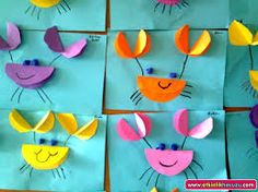 I can look at these pictures and use this craftivity idea for my beach/ocean unit.