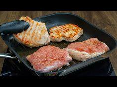 Ez a recept képes meggyőzni, hogy a sertés hús a kedvenced! | Cookrate - Magyarország - YouTube Grill Pan, Grilling, Youtube, Pork Meat, Entrees, Fast Recipes, Meat, Simple, Germany