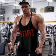 Best Online Shopping Sites, Red Logo, Skinny Fit Jeans, Workout Tanks, Black Tank Tops, Daily Wear, Printed Cotton, Tank Man, Athletic
