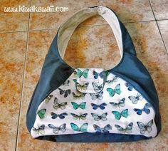 Kiwa Kawaii: Bolso Mariposas