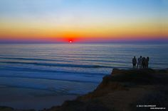 Torrey Pines State Reserve is an incredible park. The views from the top of cliffs are absolutely breathtaking, and fabulous for to take photography of the sunset.