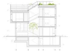 Phòng trưng bày Nhà ở một gia đình - Tolstoi str. / Văn phòng Kiến trúc Khái quát - 69