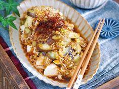 うま辛♡よだれなす【#作り置き #鶏むね肉 #レンジ】 by Yuu | レシピサイト「Nadia | ナディア」プロの料理を無料で検索