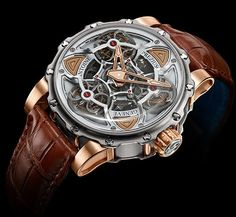 ANTOINE PREZIUSO: Tourbillon of Tourbillons