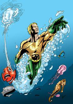 Aquaman colour by sean-izaakse.deviantart.com on @DeviantArt