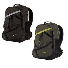 Nike Lazer Backpack. Insulated water bottle storage. Sweet.