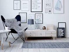 Salones de estilo escandinavo de House Envy