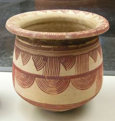 Iberian pottery, kálathos de Arjona