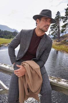 Britain's most storied suit-wear, David Gandy, is the new face of M&S Tailoring - and we've got a first look.