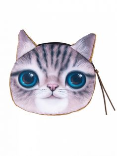 Cute Cat Coin Purse Dresses #Tops #Swimwear #Jeans #Jackets #Skirts #Shoes