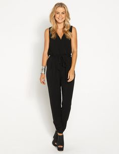 527ad56349f Australian Fashion Guide featuring our five favourite picks from Dotti. The  perfect black jumpsuit
