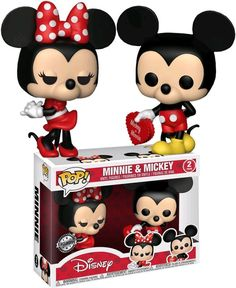 Funko pop. Valentines Day. Mickey & Minnie. Toys R Us. Exclusive.