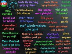 basis-grundlagen Turkish Lessons, Learn Turkish Language, German Language Learning, Learn German, Germany, Education, School, India Jewelry, Eid