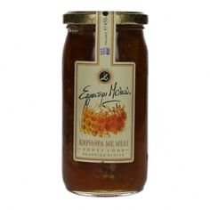 Thyme Raw Elite Greek Honey with Honeycomb 450 gr from Mani