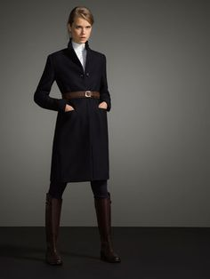 MENSWEAR COAT LIMITED EDITION - The Equestrian - Coats - WOMEN - Austria