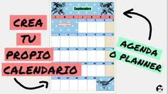 CÓMO HACER UN #CALENDARIO, #AGENDA O #PLANNER #MENSUAL con #OPENOFFICE (NICA BERNITA)  #informática #software #recursos #estudiantes #planificador #Organizador #mensual #calendario 2017