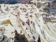 Fueled by insatiable demand in the gulf states, the Italian marble trade is booming. A look at how the stone is wrenched from the earth.