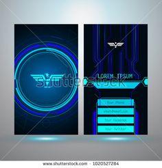 Technology name card design