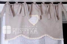 Firana panelowa ekran serce :: Rustyka.pl Shabby, Tote Bag, Fashion, Moda, Fashion Styles, Totes, Fashion Illustrations, Tote Bags