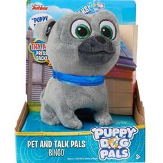 Disney Junior Just Play Puppy Dog - Puppy Love Bingo Plush Buy Puppies, Dogs And Puppies, Talking Toys, Disney Plush, Disney Junior, Toys For Boys, Boy Toys, Pre School, Bingo