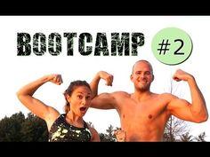 Bootcamp Workout #2 - Dünne Beine - Flacher Bauch - schlanke Oberschenkel - Fatburner - YouTube