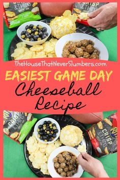 (ad) Easiest Game Day Cheeseball Recipe - You'll never believe this cheeseball i. - (ad) Easiest Game Day Cheeseball Recipe – You'll never believe this cheeseball is only three in - Low Carb Appetizers, Low Carb Desserts, Appetizer Recipes, Appetizer Ideas, Healthy Superbowl Snacks, Game Day Snacks, Sweet Potato Skins, Mashed Sweet Potatoes, Easy Cheeseball