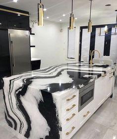 37 kitchen decor Boho - Home Decor Ideas Kitchen Room Design, Home Room Design, Dream Home Design, Home Decor Kitchen, Home Interior Design, Home Kitchens, House Design, Modern Interior, Dream House Interior