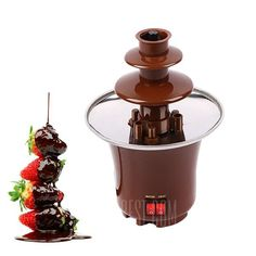 Just $22.40, buy Mini Household Chocolate Fountain Machine online shopping at GearBest.com Mobile.