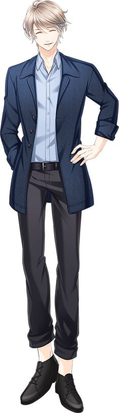 Manga Boy, Manga Anime, Anime Male, Cool Anime Guys, Handsome Anime Guys, Blonde Anime Boy, Boys Suits, Anime Poses, White Hair