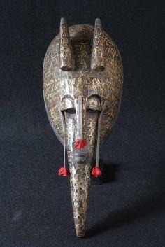 Le masque africain Bambara une image du Mali