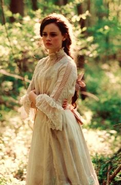 Victorian Girl in the Greens.