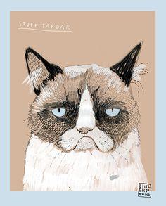 The Wolf Cub & Luna : thewolfcub.com - illustration by Carla Fuentes