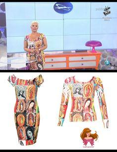 Terelu Campos luciendo el vestido Ave María en Sálvame  http://www.barbarella.es/tiendabarbarella/