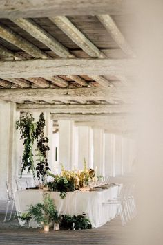 An Italy country house wedding with greenery flourishing from every window, corner and ceiling beam? Consider this intimate wedding a hundred percent swoon-worthy. Rose and Matteo said I Do amidst lush greenery pillars and candlelight - a picture perfect ceremony backdrop if we ever saw one! Though our favorite detail has to be the rustic chic dessert display with FIVE wedding cakes! See it all on Ruffled now #italywedding #organicweddingideas #greenerywedding