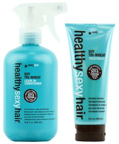 THE BEST DETANGLER I HAVE EVER USED ON MY DAUGHTERS LONG, CURLY HAIR!!!!Healthy Sexy Hair Soy Tri-Wheat Treatment