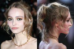 lily rose depp style | hair