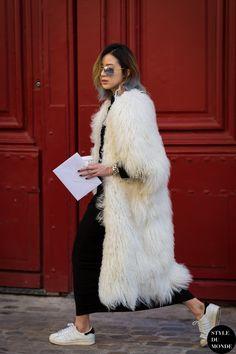 Irene Kim Street Style Street Fashion Streetsnaps by STYLEDUMONDE Street Style Fashion Photography
