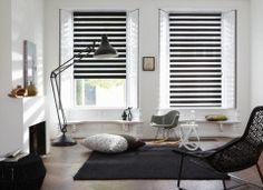 te koop bij www.caspardekkers.nl Luxaflex® Twist® Rolgordijnen - zwart, wit