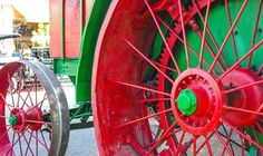 Tractor at Pioneer Day in Paso Robles. 10/11/14