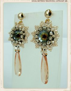 Spanish Dancer Earrings Style 2 by Social Butterfly Jewellery, via Flickr