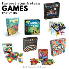 STEAM and STEM games for kids!