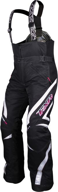 FXR Women's TEAM Pant - Black-White - Snowmobile Gear