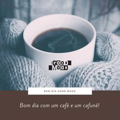 Bom dia com amor. Good morning, good mood! ☕❤  .  www.lojagoodmood.com.br
