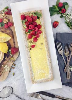 {Cooking with Friends} Gluten-Free Lemon Curd Tart, by Eyecandypopper