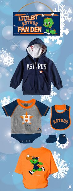 Start 'Em Young! Astros gifts for the young Astros fans in your life.
