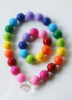 Bubblegum Rainbow Set by TheTwinkleShoppe on Etsy, $12.00