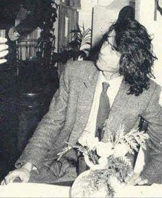 Jimmy Page, art gallery opening, London