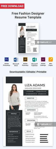Christian King - Project Manager Resume Template Pinterest