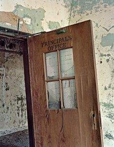 Principal's Office, Service Building, North Brother Island