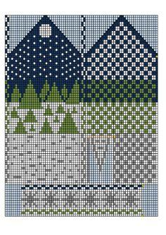 Skulle nog bli en fin tovad vante stickad i Tove Knitted Mittens Pattern, Knit Mittens, Knitted Gloves, Knitting Socks, Fingerless Mittens, Loom Knitting, Knitting Charts, Knitting Stitches, Knitting Patterns